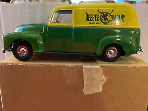 John Deere Ertl Bank '50 Chevy Panel Delivery Truck #5621