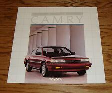 Original 1987 Toyota Camry Deluxe Sales Brochure 87