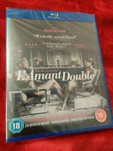L'AMANT DOUBLE BLU RAY BRAND NEW SEALED LAMANT)