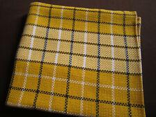 Nappe coton 1,40 x 1,25 m - jaune, blanc, noir