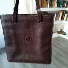borsa vintageTrussardi marrone in suede
