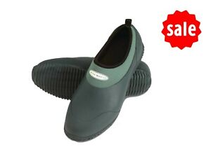 SALE Ladies  Muck Boots Daily  Shoe Warm Neoprene Lined  UK 4 Green