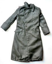 1/6 SCALE SOLDIER STORY GERMAN WWII - GREEN LEAHTER COAT W/ BUTTON