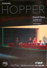 EDWARD HOPPER 2012 PARIS EXHIBITION POSTER - BOULEVARD OF BROKEN DREAMS