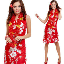 Ladies Hawaiian Fancy Dress Costume