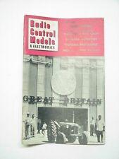 Radio Control Models & Electronics January 1961 Airplane
