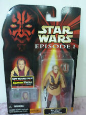 Star Wars Hasbro episode 1 Ric Olie with helmet and naboo blaster action figure