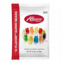 Albanese Gummi Bears 12 assorted flavors 5lb Bulk Deal - Gummy candy made in USA