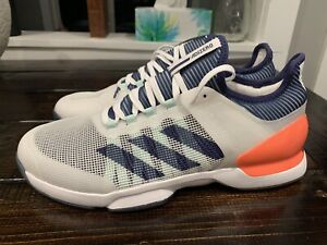 Adidas Adizero Ubersonic 2 Men's Size 10 Tennis Shoes FU9468 NEW
