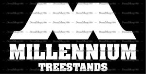 Millennium Hunting Treestands -Outdoor- Car Vinyl Die-Cut Peel N' Stick Decals