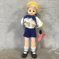 "Brinn Porcelain Doll, 14"" Jack Be Nimble, 1988, Box and Coa"