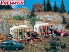 Vollmer H0 45145 Campingwagen (2 Stück) - NEU + OVP