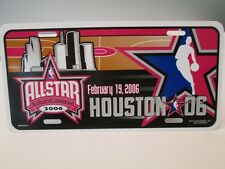 2006 ORIGINAL Houston Allstars  NBA Basketball LICENSE PLATE Filler