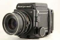 【 EXC+5 】 MAMIYA RB67 Pro S + SEKOR C 90mm f/3.8 + Waist Level Finder from JAPAN