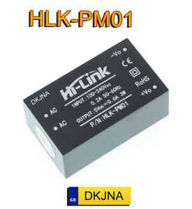 HLK-PM01 AC-DC 220V to 5V Step down Power Supply Module Switch Buck Converter