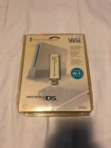 Nintendo Official Wi-Fi USB Connector for Wii and DS Wi-Fi Adapter New Sealed