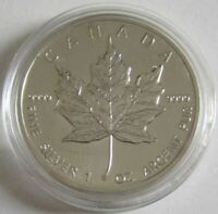 Kanada 5 Dollars 1993 Maple Leaf 1 Oz Silber
