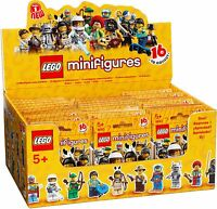New Factory Sealed LEGO 8683 Box/Case of 60 Minifigures Series 1