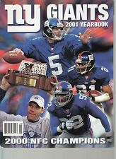 New York Giants 2001 NFL Team Yearbook