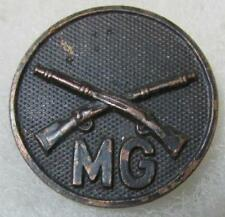 WW1 Infantry Machine Gun Company Collar Disc with nut