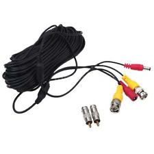 20M BNC DC Connector Video Power Siamese Cable 4pcs for CCTV Camera DVR 95JM