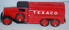 "ERTL 1930 Texaco 21/2 Ton Diamond ""T"" Fuel Tanker Locking Coin Bank Die-Cast"