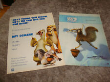 ICE AGE 2002 Oscar ads with Ray Romano congrats ad for winning Emmy, Scrat