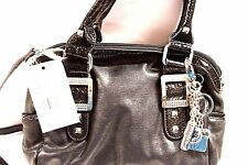 Kathy Van Zeeland H64705 Ticket To Ride X-Body Black Handbag $99 NWD