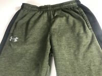 Under Armour Storm Pants Mens Large Cold Gear 32 x 32 Actual Green Navy Blue UA