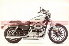 HARLEY-DAVIDSON XL 1200 SPORTSTER LOW : Carte Postale Moto Postcard #0204