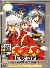 DVD Anime  INUYASHA Complete Movie Collection 1-4  TVB Cantonese Ver ALL Region