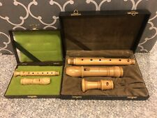 Moeck Rottenburg Recorders - Alto and Sopranino