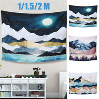 Mountain Tapestries Printed Landscape Wall Hanging Home Bedroom Decoration ! ~