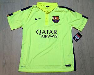 2014-15 Barcelona 3rd Shirt S/S Neymar JR #11 size L (New With Defect 2)