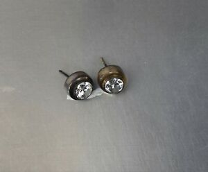 CrazieM 925 Silver Vintage Southwest Estate Stud Post Earrings 6.1g x98