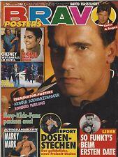 BRAVO 50/05.12.1991 Heft Komplett ARNOLD SCHWARZENEGGER / MICHAEL JACKSON Rare !