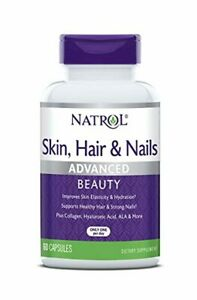 Natrol Skin, Hair and Nails Advanced Beauty Capsules, Packed with Beauty Enhanci