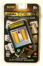 DEAL OR NO DEAL Electronic HandHeld Game by Irwin Toy - New
