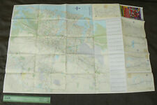 2000 Vintage SYDNEY Map 103cm x 68cm Richmond Penrith Camden Berowra Miranda NSW