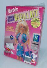1996 Barbie Fashion Designer Refill Kit, New & Sealed.