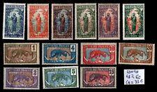 CONGO : Série 148 à 60, Neufs * = Cote 33 € / Lot COLONIES France