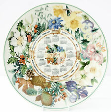 Wedgwood Queens Ware Calendar Four Seasons Plate 2003