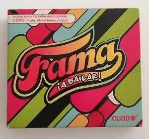 FAMA A BAILAR - 3 CDS - ÉXITOS PROGRAMA  CUATRO - FUNKY - STREET DANCE - LIRICO