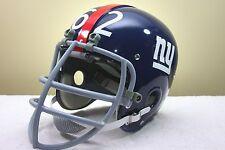 Darrell Dess Style CUSTOM NEW YORK GIANTS Suspension Vintage Football Helmet NEW