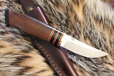 Custom Nordic Knife, Oosic, Scandi,Puukko,Ss Enzo hunter,Knives by L. C. Patrick
