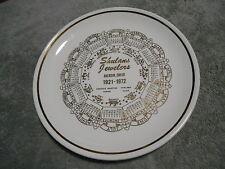 ( G8 ) CALENDAR PLATE - SCHULANS JEWELERS - AKRON, OHIO - 1921 - 1972