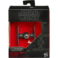 Star Wars: The Force Awakens Black Series Titanium First Order TIE Fighter Toys