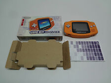 Game Boy Advance System Orange Nintendo Japan