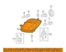 TOYOTA OEM 07-08 Yaris-Headlight Head Light Headlamp 8117052601