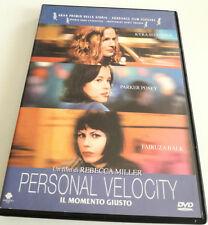 PERSONAL VELOCITY – IL MOMENTO GIUSTO (2002) FILM DVD SPED GRATIS SU + ACQUISTI!